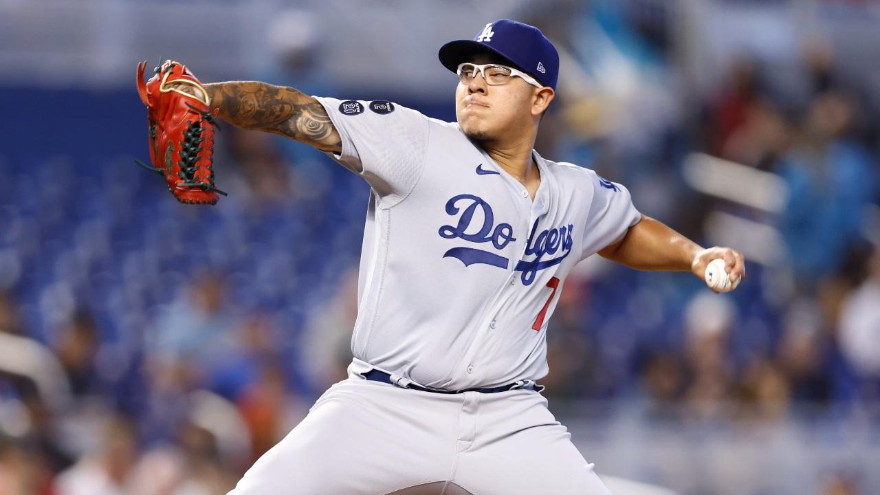 ulio Urias, pelotero mexicano de Los Angeles Dodgers de la Grandes Ligas