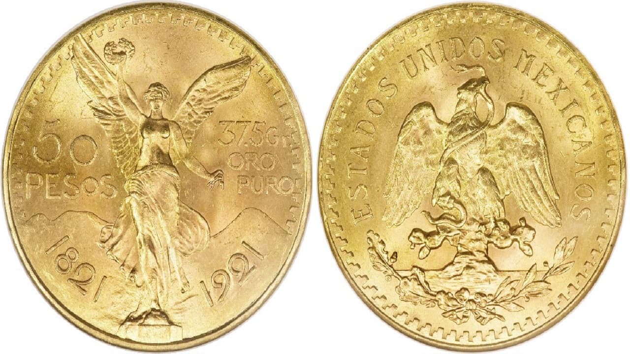 Valor del Centenario y Bicentenario de oro