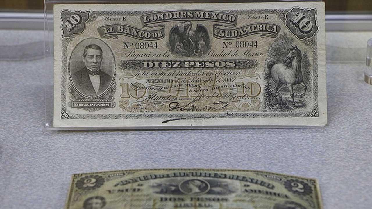 Este fue el primer billete mexicano