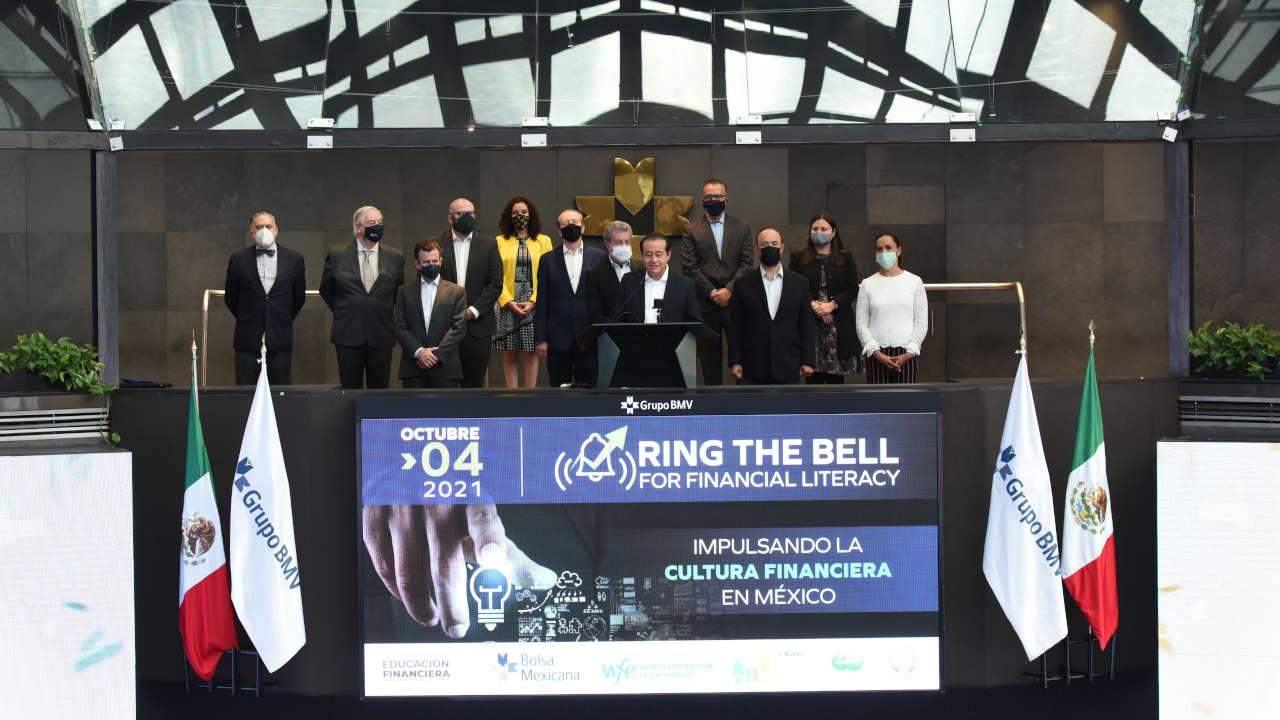 BMV se suma a campanazo global en favor de la cultura financiera