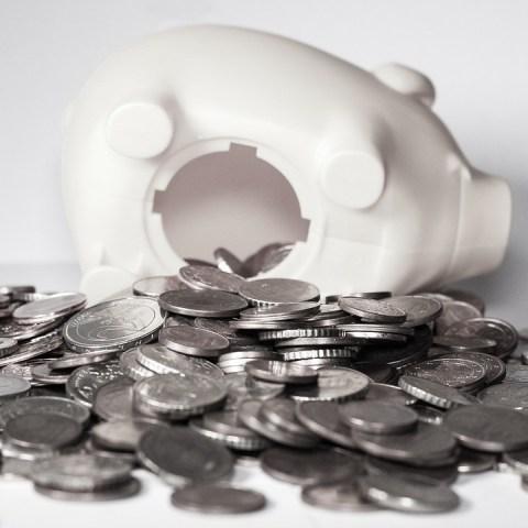 Las monedas de centavos aún están en circulación.