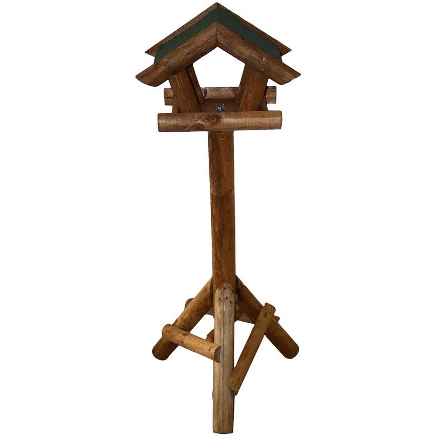 Mangeoire Oiseaux Sur Pied Avec Toit Vert 3460