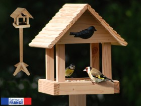mangeoire oiseaux pour graisses et graines mangeoire pic nic avec pied