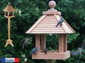 mangeoire oiseaux pour graisses et graines mangeoire festin sur pied