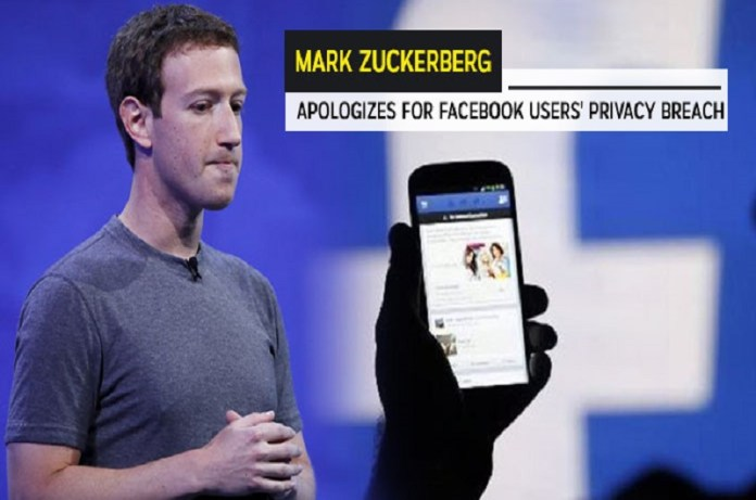 Mark Zuckerberg Apologizes for Facebook Users Privacy Breach