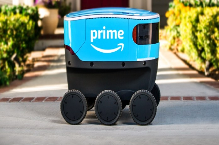 Amazon Tests Delivery By Self Driving Car Robots, amazon self driving