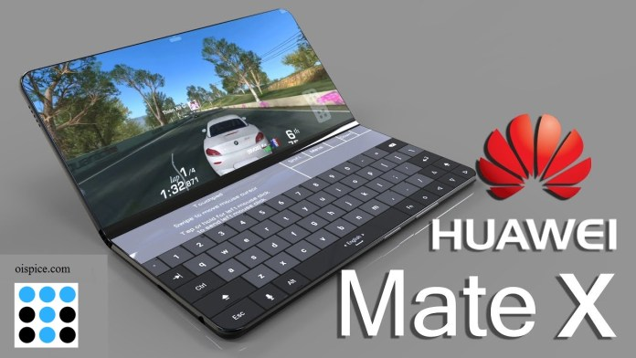 Huawei Mate X Folding Smartphone