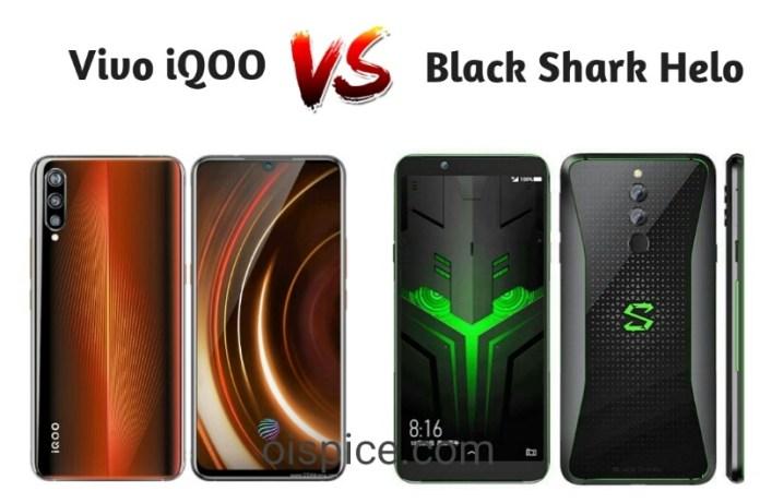 Best gaming Smartphone as comparison between Vivo iQOO vs Black Shark Helo