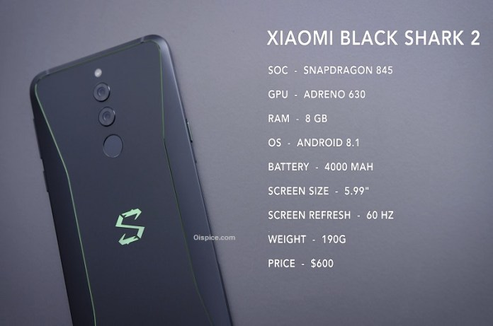 Black Shark 2 Gaming Smartphone to Launch on March 18 Check Expected Price and Specification Details