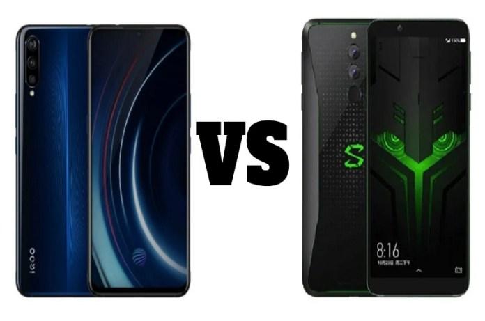 Compare Between Vivo iQOO vs Black Shark Helo phones