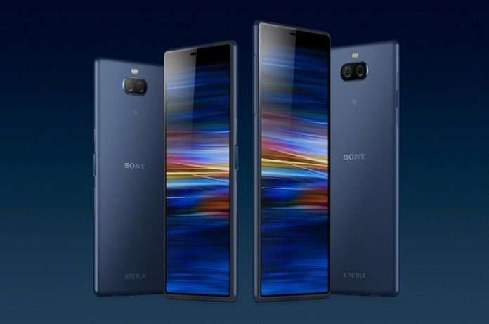 Sony Xperia 10 and Sony Xperia Plus smartphone