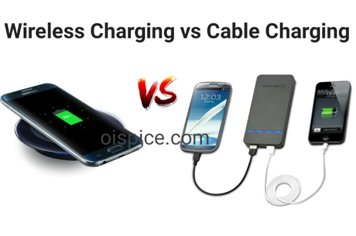 Wireless Charging VS Cable Charging pros and cons