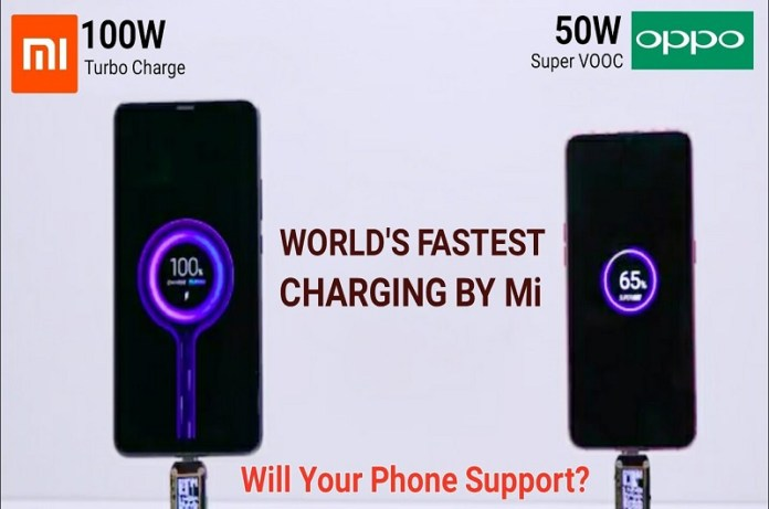 Xiaomi's 100W Super Charge Turbo Technology