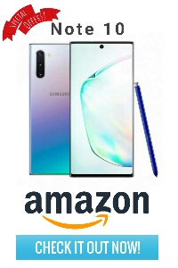 Amazon sale Note 10