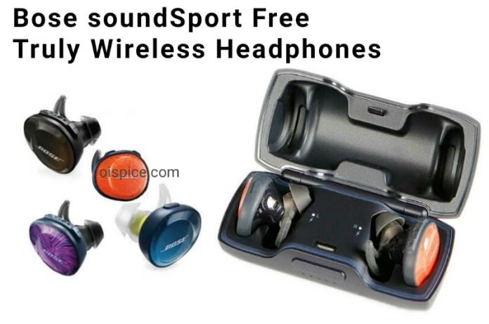 Bose SoundSport Free Truly Wireless Headphones
