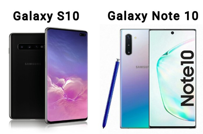 The best Smartphone among – Galaxy Note 10 vs Galaxy S10