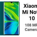 Xiaomi Mi Note 10 Specifications
