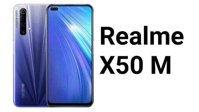 Realme X50 M Smartphone