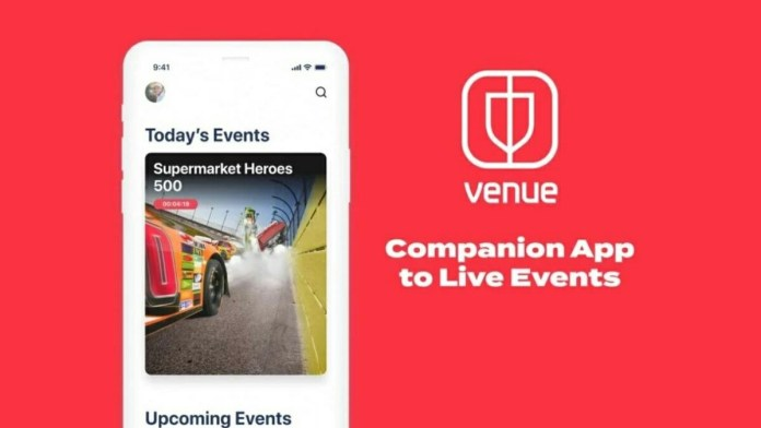 New Live Event App Venue Launched by Facebook