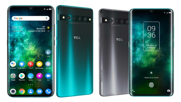 TCL 10 Pro and TCL 10 Smartphone Specifications