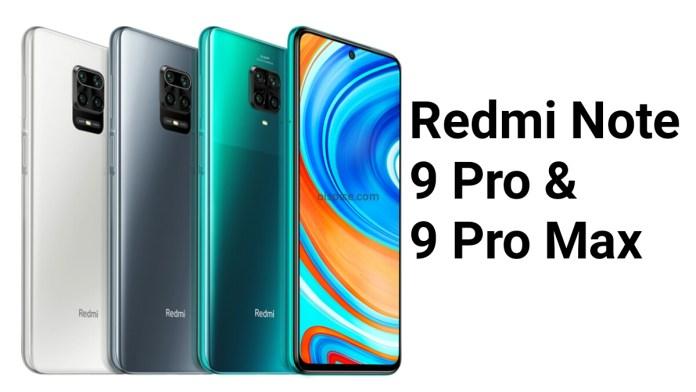 Xiaomi Redmi Note 9 Pro vs 9 Pro Max