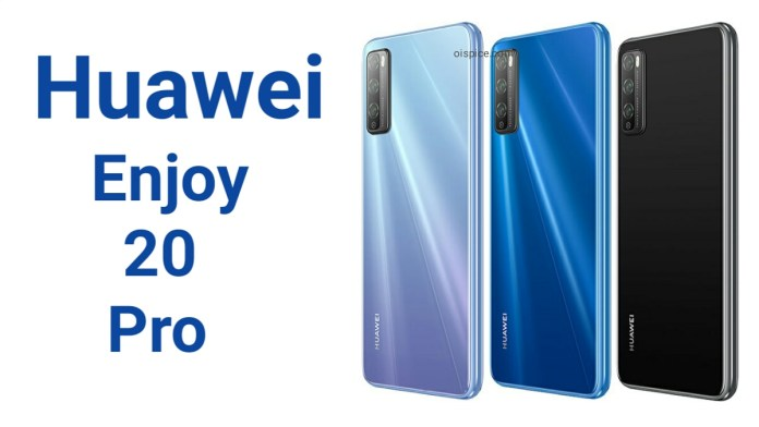 Huawei Enjoy 20 Pro Specifications Price Pros and Cons