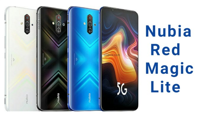 ZTE nubia Red Magic 5G Lite Pros and Cons