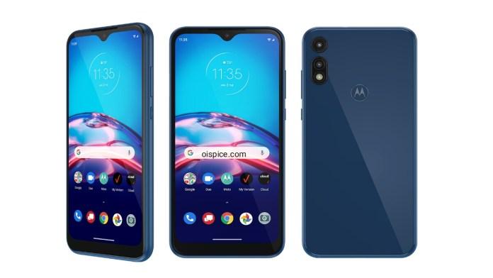 Motorola Moto E and Moto E6s 2020