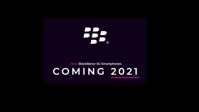 BlackBerry phone 5g
