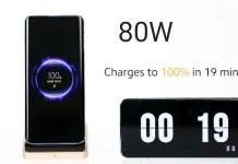 80W Fast Wireless charging