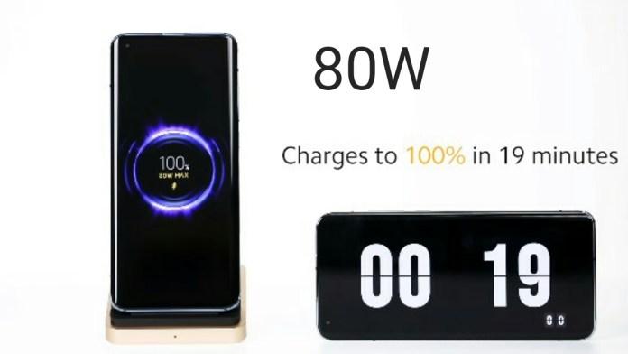80W Fast Wireless charging