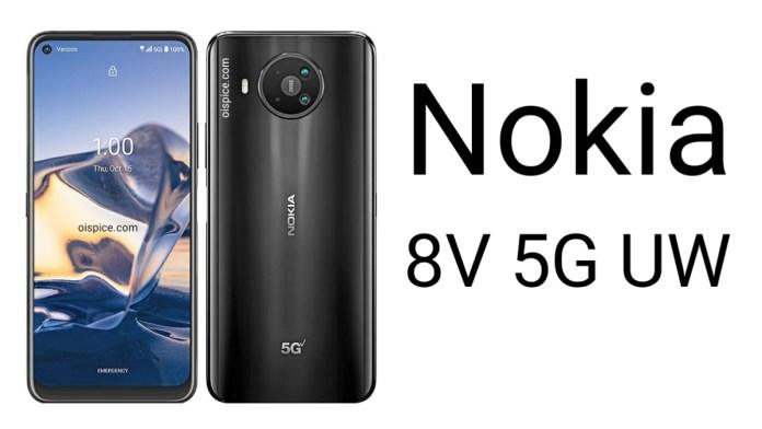 Nokia 8V 5G UW