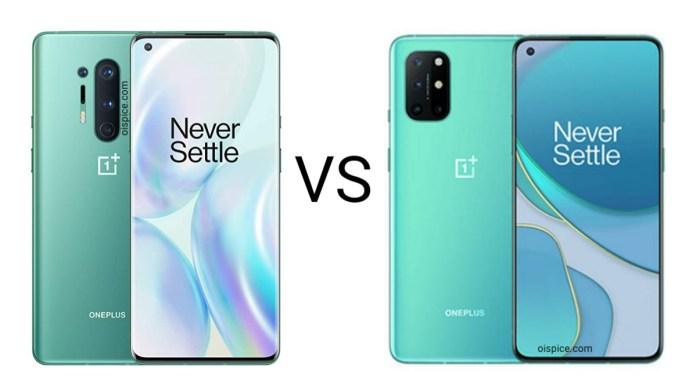 OnePlus 8 Pro vs OnePlus 8T
