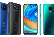 POCO X3 NFC vs Redmi Note 9 Pro