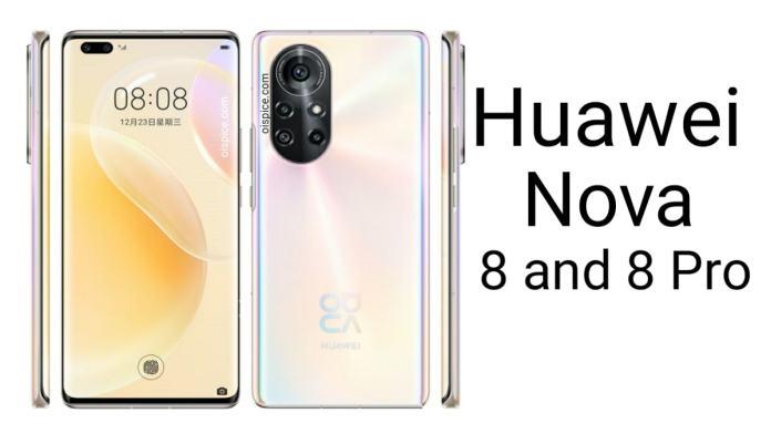 Huawei Nova 8 and Nova 8 Pro