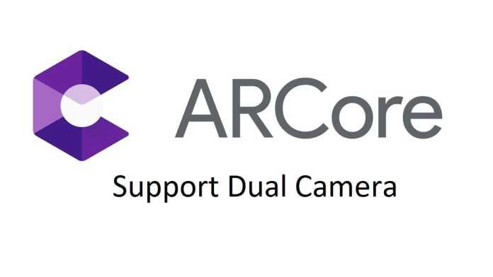 ARcore Dual Camera