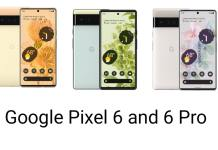 Google Pixel 6 and 6 Pro