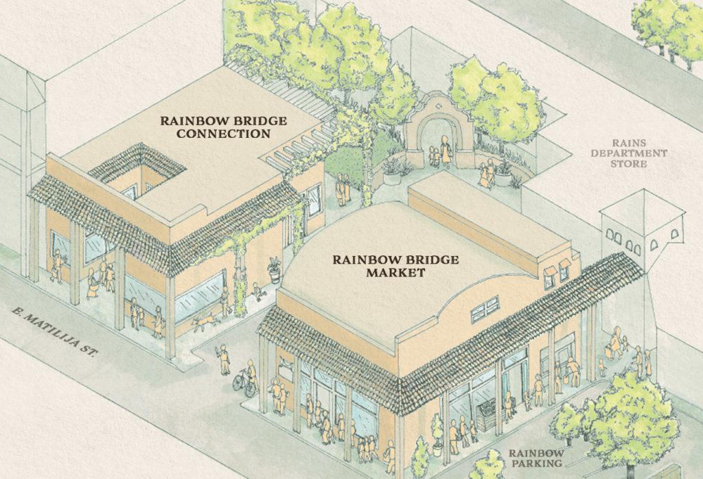 ojai rainbow bridge marketplace map