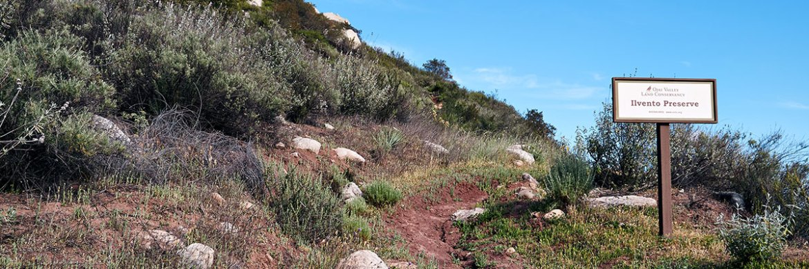 The Ilvento Preserve was the first acquisition by the Ojai Valley Land Conservancy.