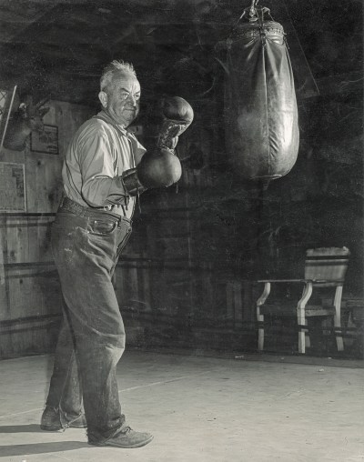 Pop Soper trained several generations of top boxing talent at his ranch.
