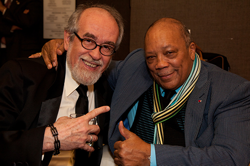 Roger Kellaway with Quincy Jones