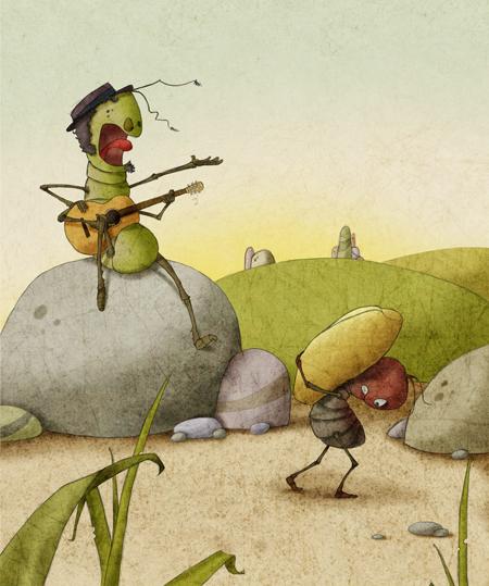 The Ant & The Grasshopper