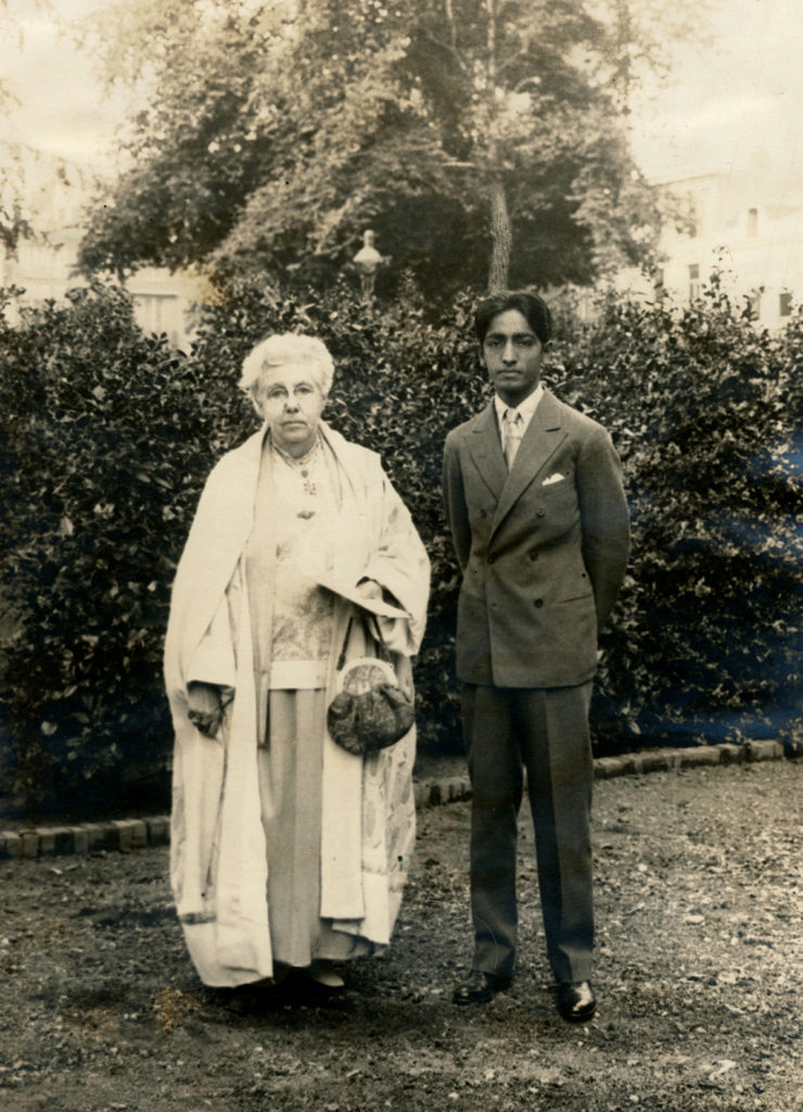 Krishnamurti and Annie Besant