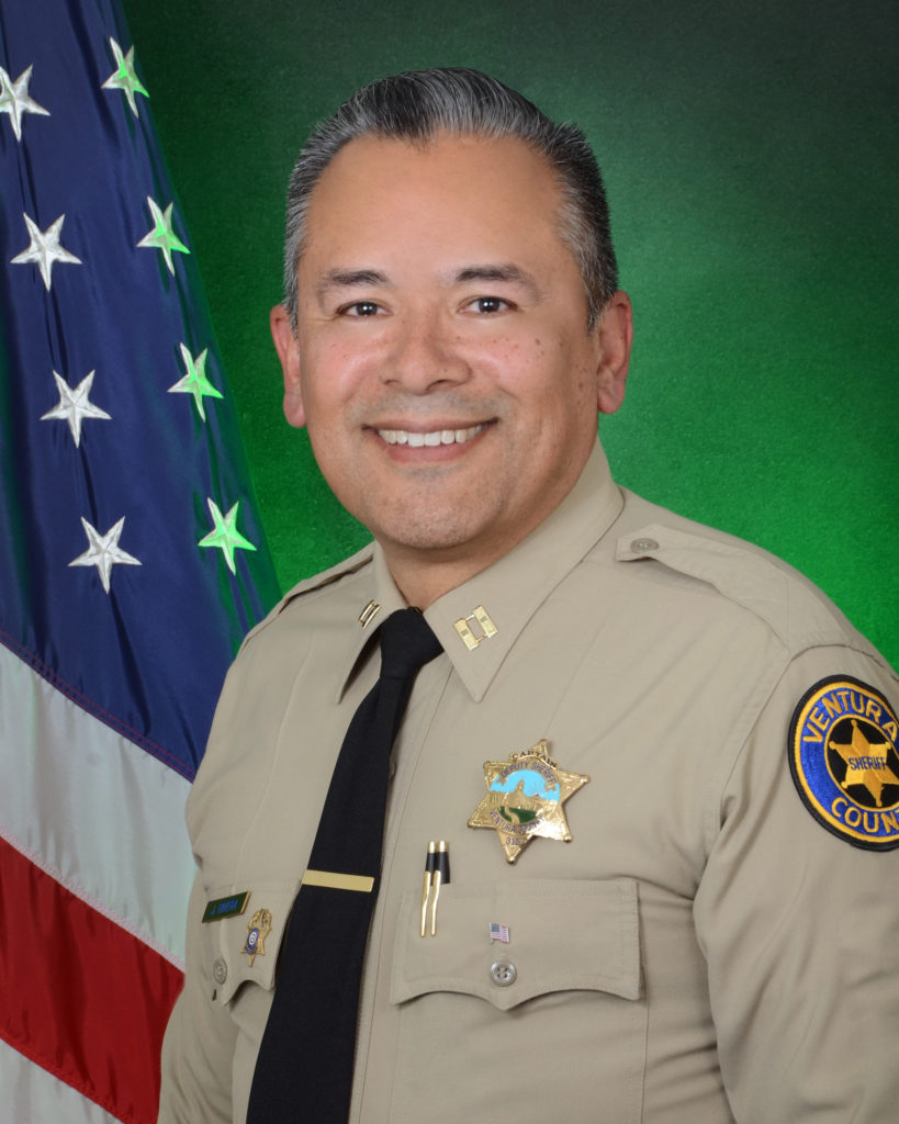 Ojai's new police chief, Capt. Jose Rivera