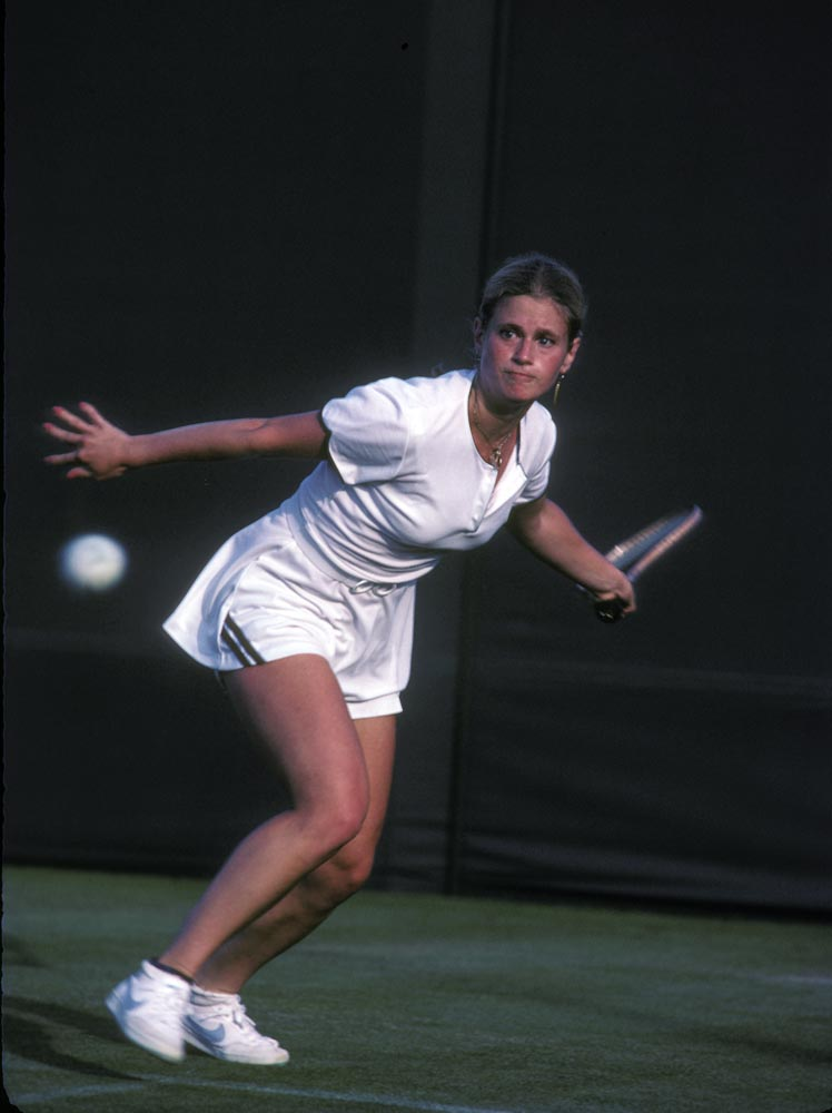 Stacy Margolin Potter at Wimbledon