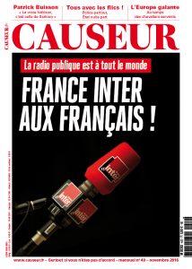 Causeur n°40 : France Inter aux Français !