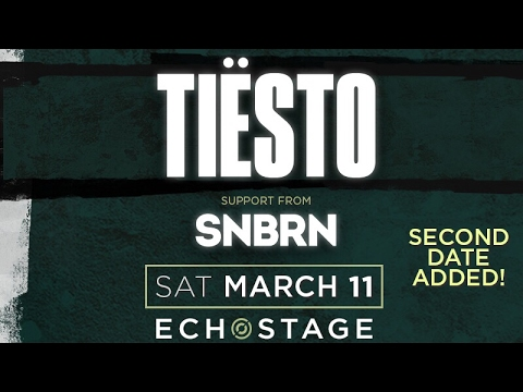 Tiësto LIVE On Stage in D.C. – Night Two