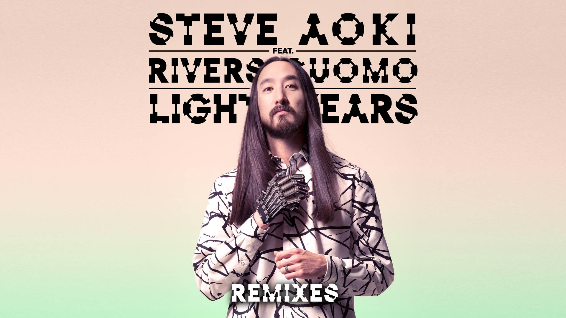 Steve Aoki – Light Years feat. Rivers Cuomo (Funkin Matt Remix) [Cover Art]