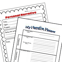 FREE Writing Organizer Sheets