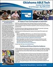 2018 ABLE Tech Summer Newsletter (4th Qtr)